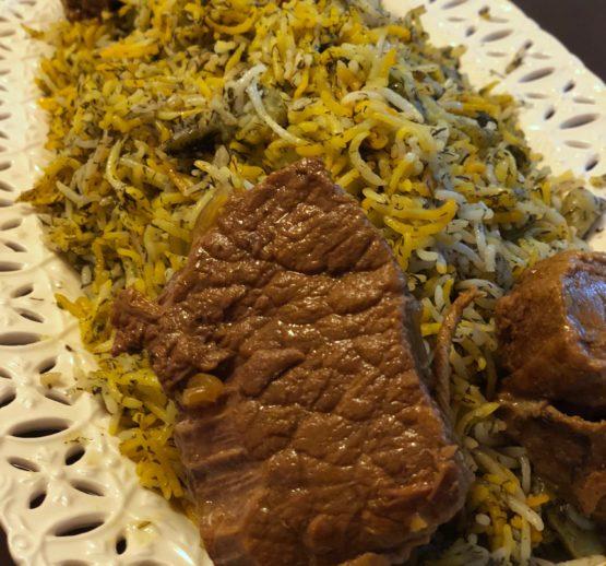 Baghali Polo va Mahiche