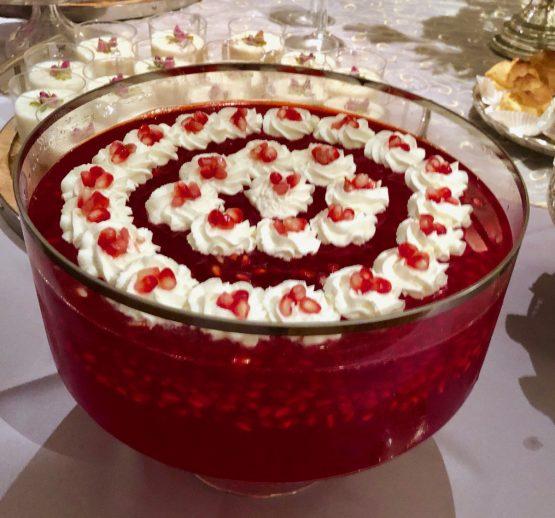 Pomegranate Jell-O