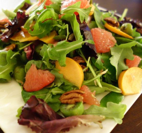Seasonal Fruit Green Salad