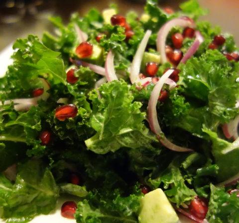 Jeweled Kale Salad